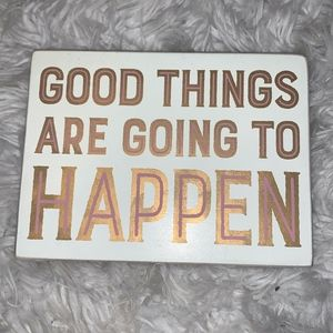 Wall/Room Quote Decor Sign